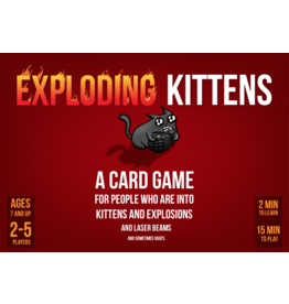 ALLIANCE GAMES DISTRIBUTORS EXPLODING KITTENS ORIGINAL ED CARD GAME