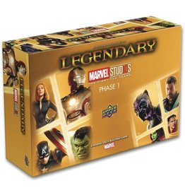 UPPER DECK LEGENDARY DBG MARVEL STUDIOS 10TH ANNI STAND ALONE