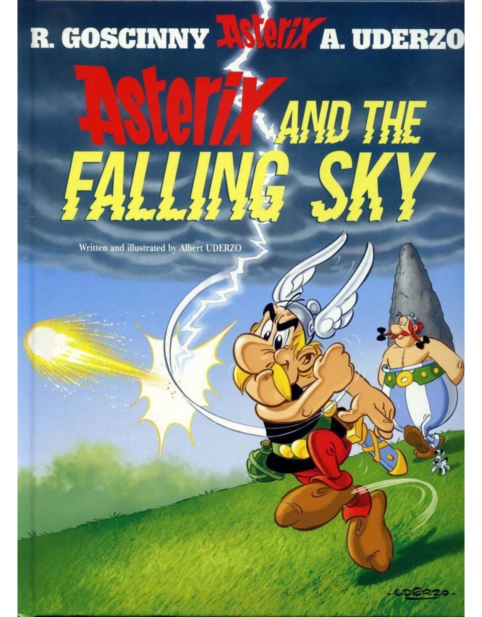 STERLING PUBLISHING ASTERIX TP VOL 33 ASTERIX AND THE FALLING SKY SC