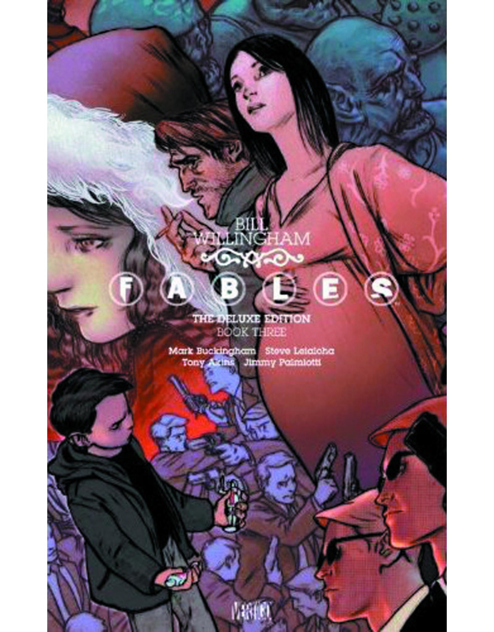 DC COMICS FABLES DELUXE EDITION HC VOL 03