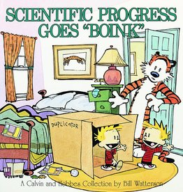 ANDREWS MCMEEL CALVIN & HOBBES SCIENTIFIC PROGRESS TP NEW P