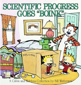 ANDREWS MCMEEL CALVIN & HOBBES SCIENTIFIC PROGRESS TP NEW P