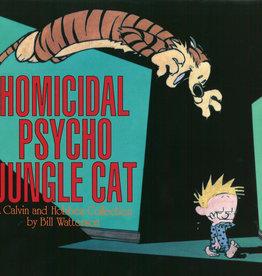 ANDREWS MCMEEL CALVIN & HOBBES HOMICIDAL PSYCHO JUNGLE CAT SC NEW PTG