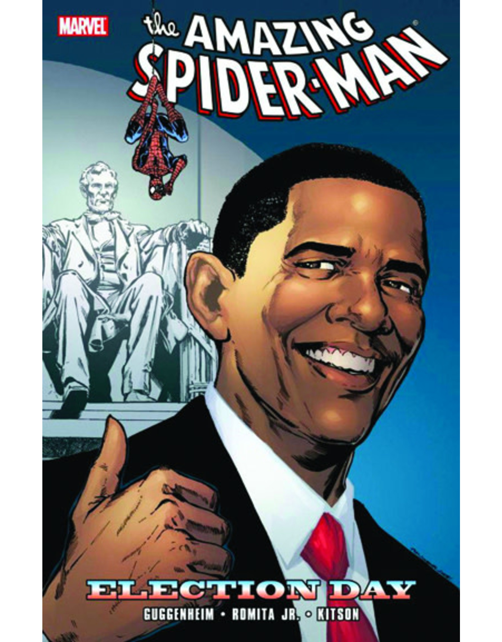 MARVEL COMICS SPIDER-MAN ELECTION DAY TP