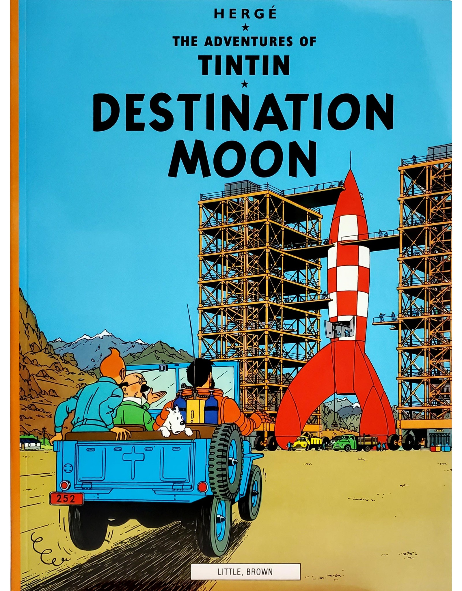 LITTLE BROWN & COMPANY TINTIN VOL 14 DESTINATION MOON TP