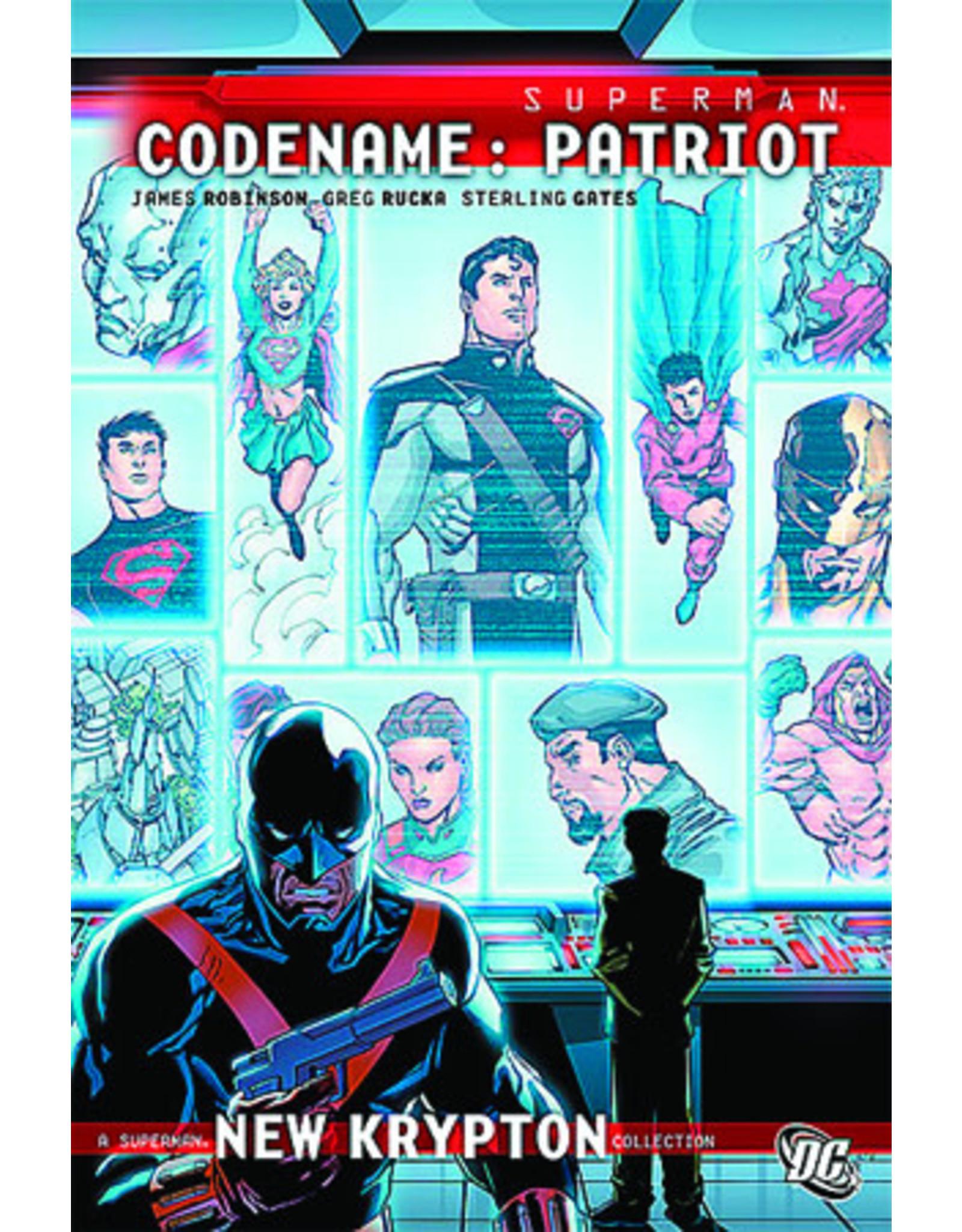 DC COMICS SUPERMAN CODENAME PATRIOT HC