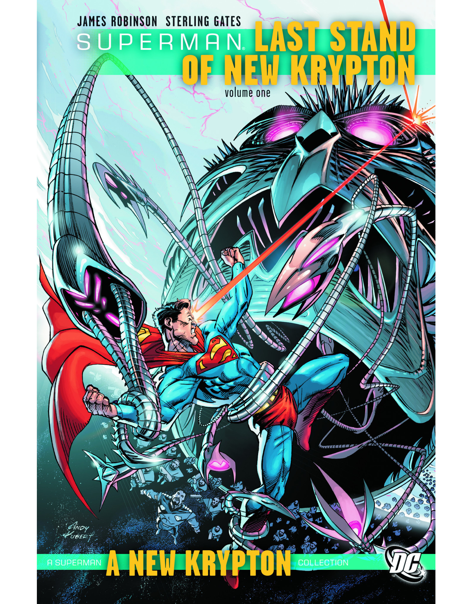 DC COMICS SUPERMAN LAST STAND OF NEW KRYPTON HC VOL 01