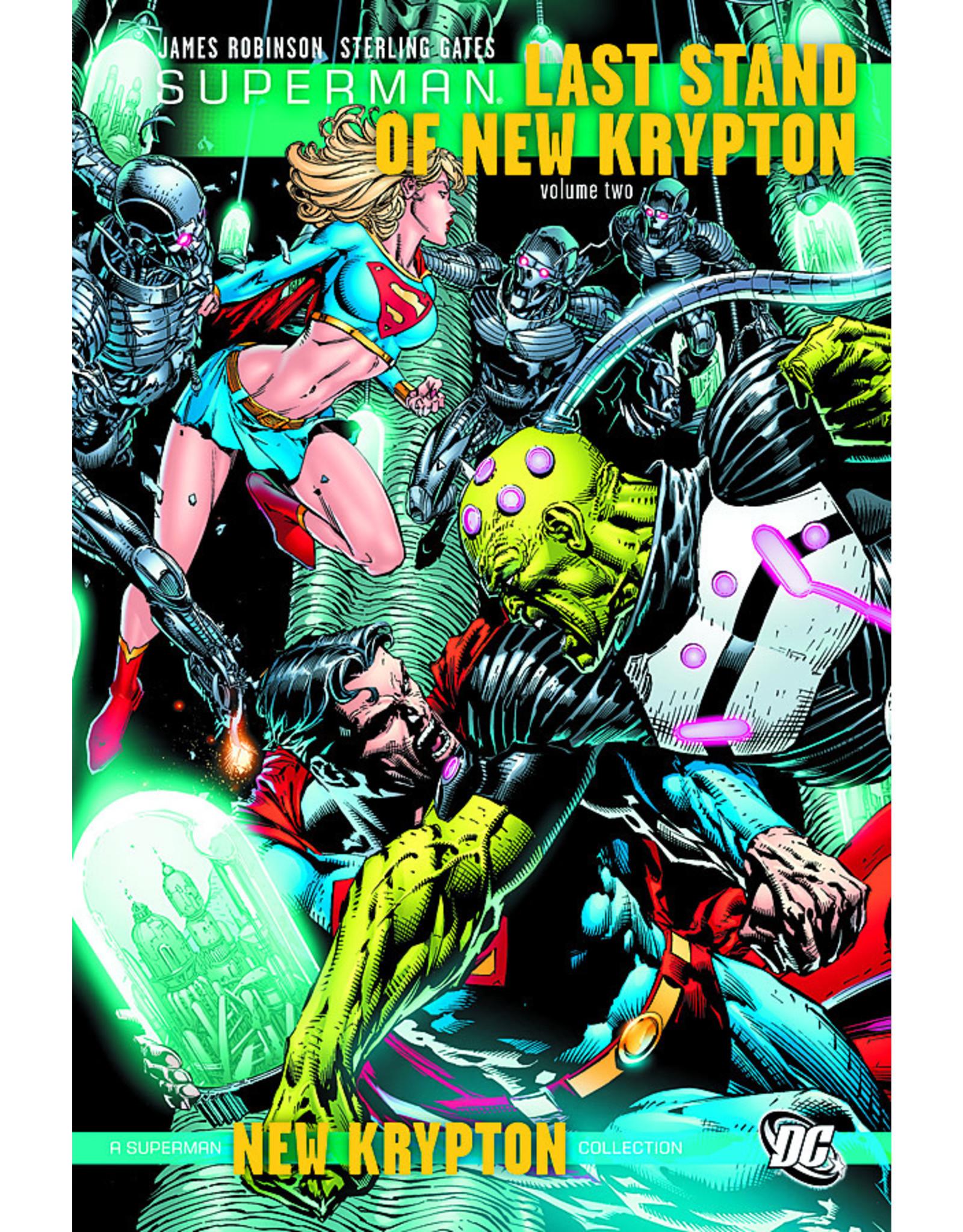DC COMICS SUPERMAN LAST STAND OF NEW KRYPTON HC VOL 02