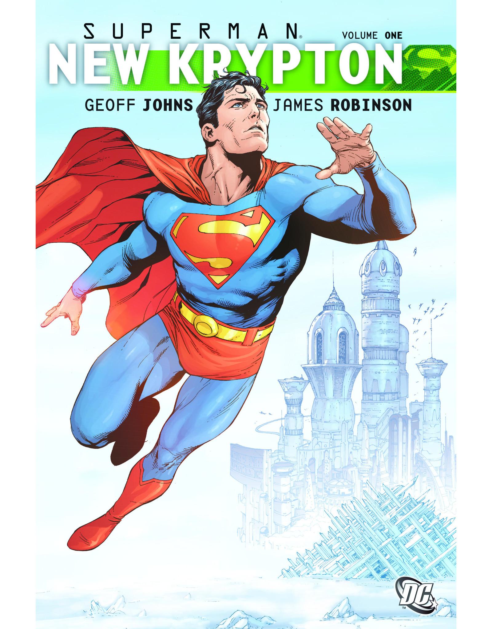 DC COMICS SUPERMAN NEW KRYPTON HC VOL 01