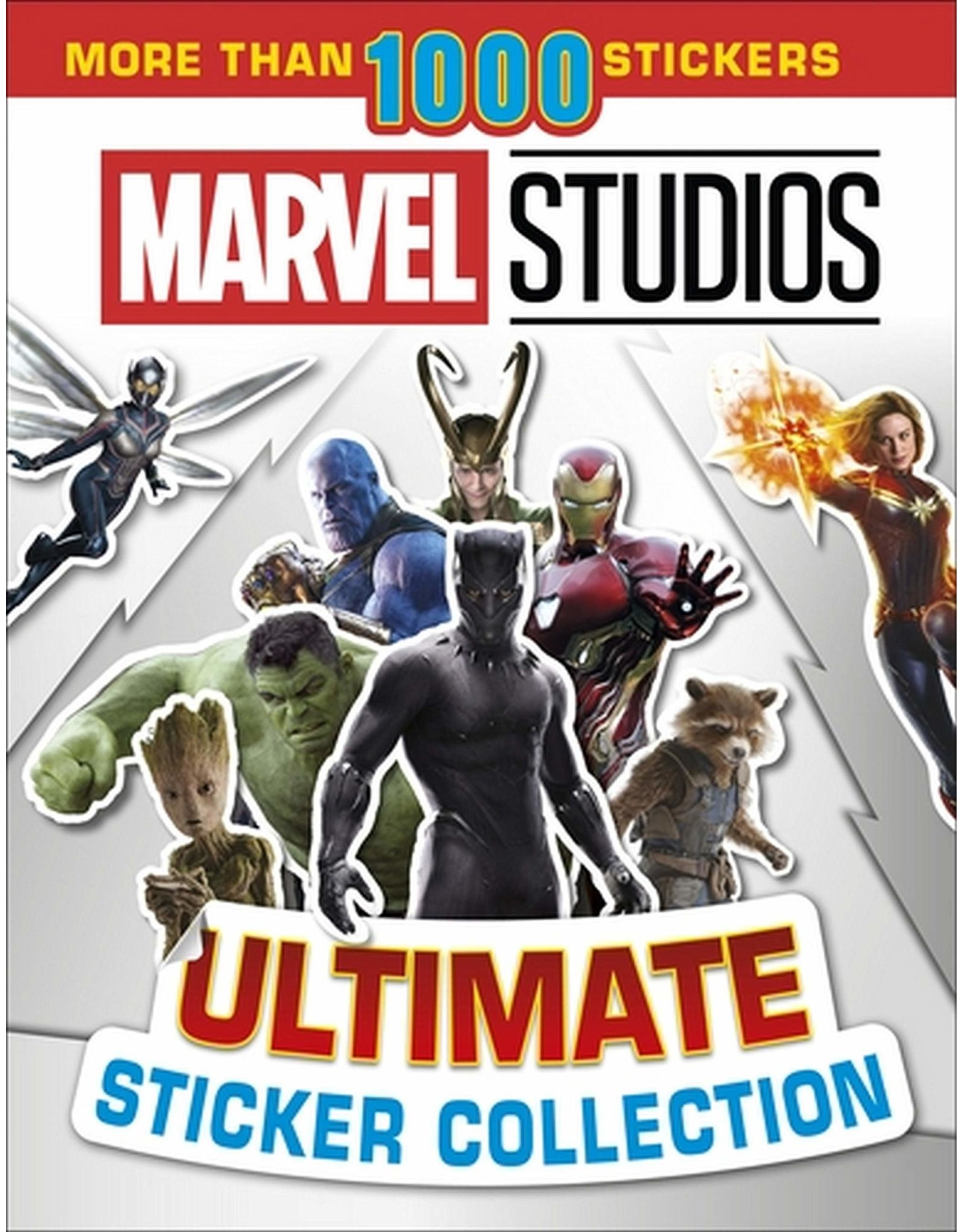 DK PUBLISHING CO ULTIMATE STICKER COLLECTION: MARVEL STUDIOS