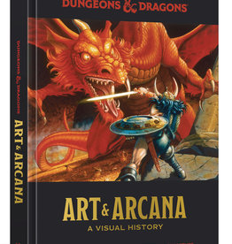 TEN SPEED PRESS DUNGEONS & DRAGONS ART AND ARCANA VISUAL HIST HC
