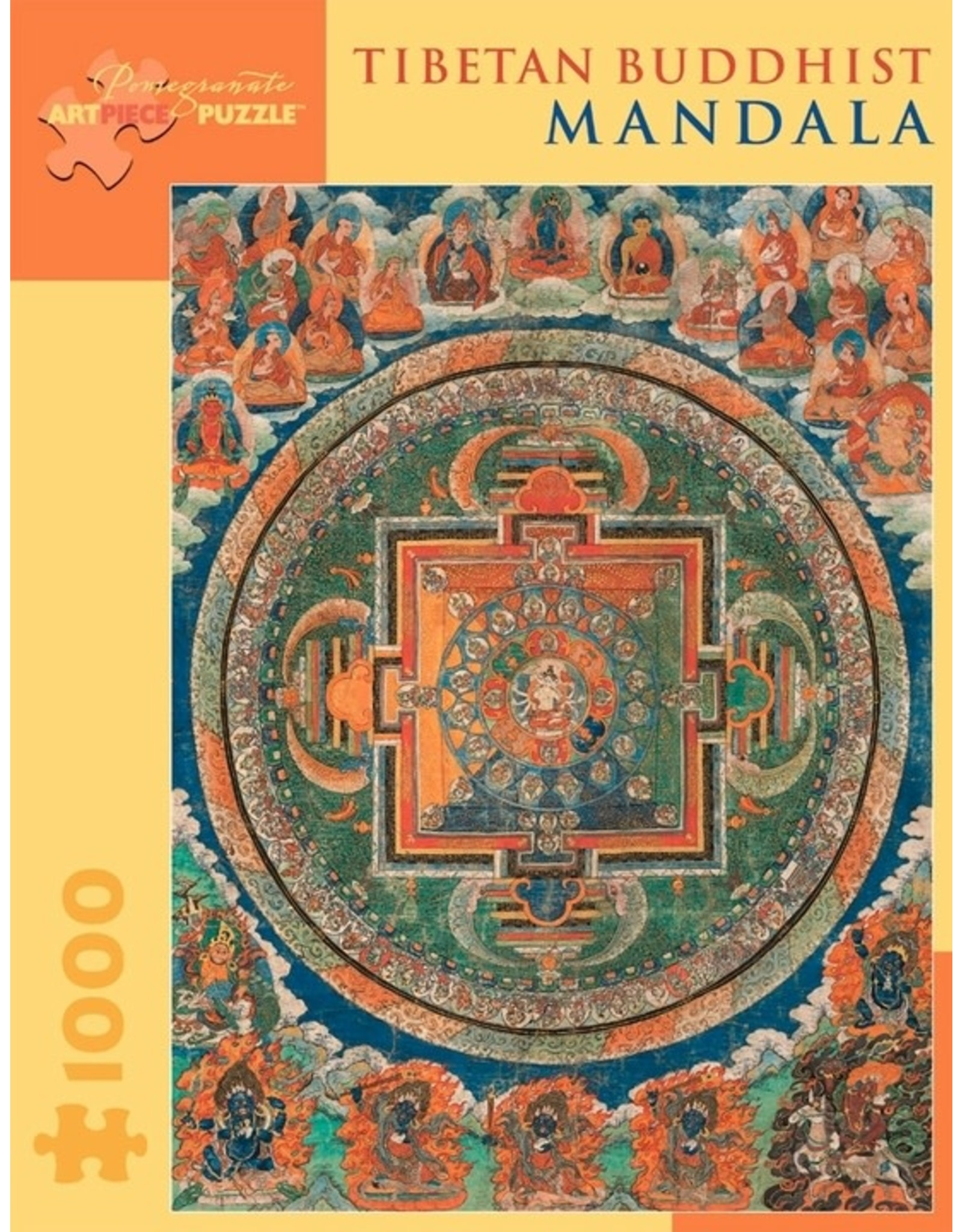 TIBETAN BUDDHIST MANDALA1000 PIECE JIGSAW PUZZLE