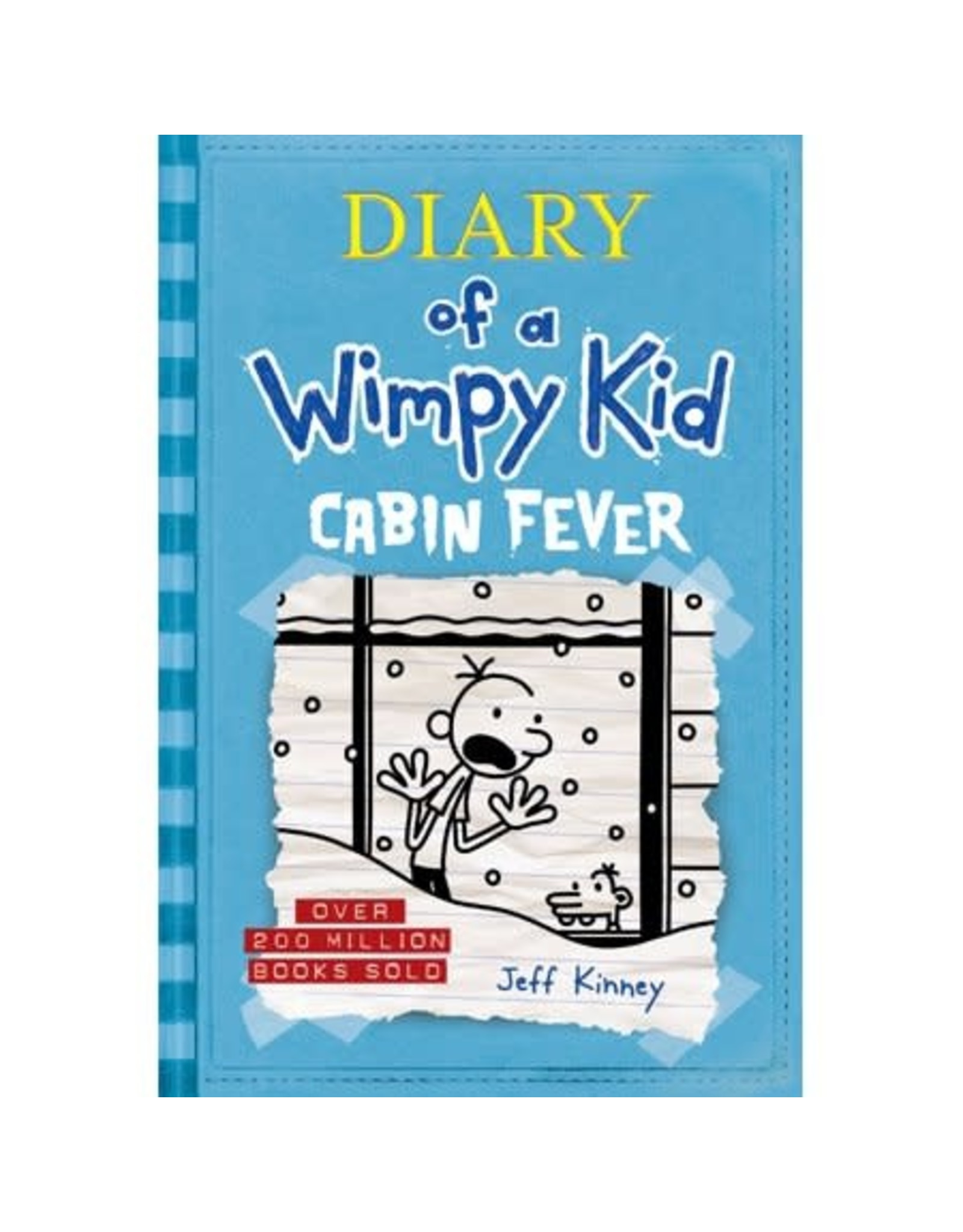 AMULET BOOKS DIARY OF A WIMPY KID HC VOL 06 CABIN FEVER
