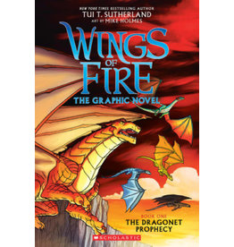 GRAPHIX WINGS OF FIRE SC GN VOL 01 DRAGONET PROPHECY
