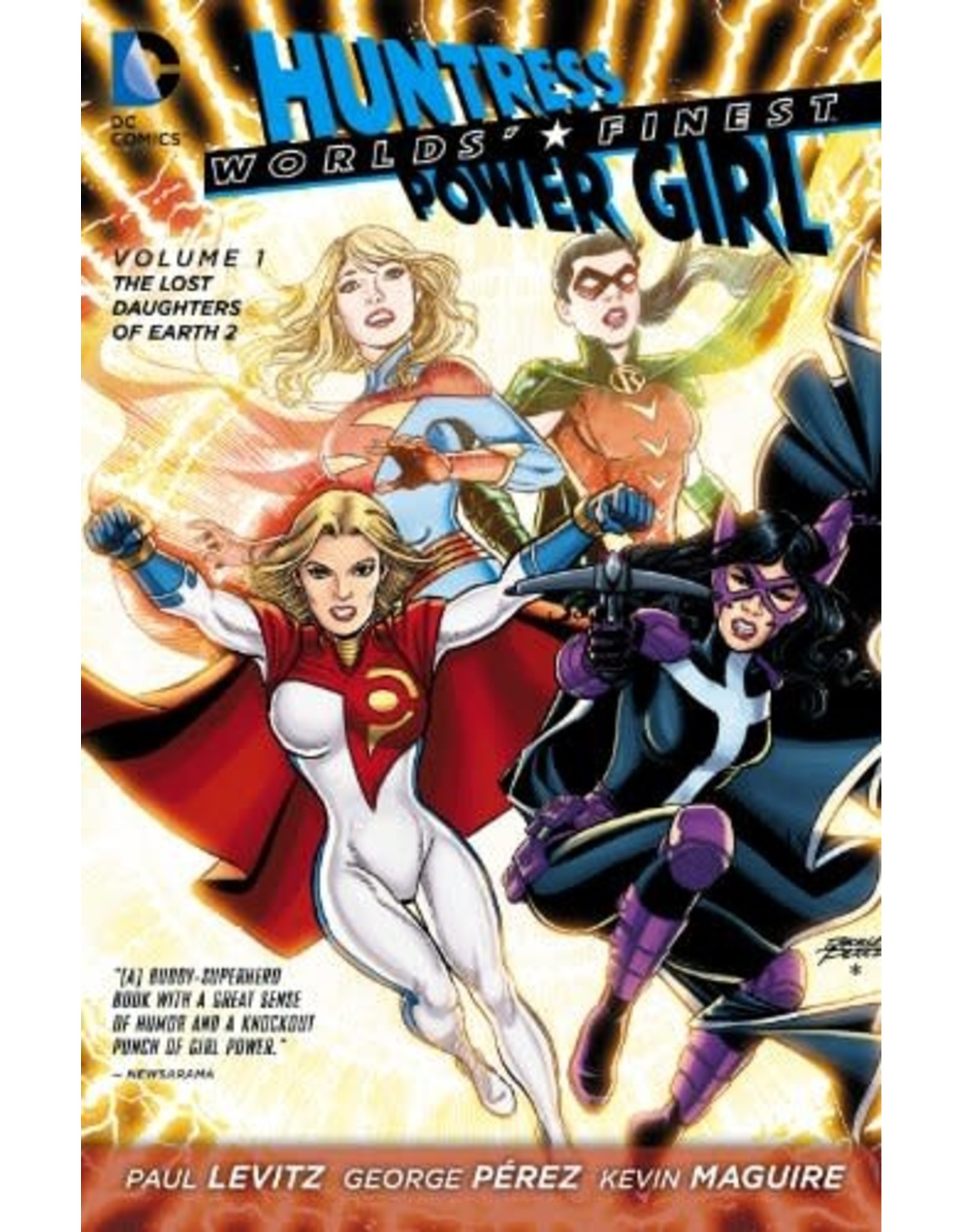 DC COMICS WORLDS FINEST TP VOL 01 LOST DAUGHTERS (N52)