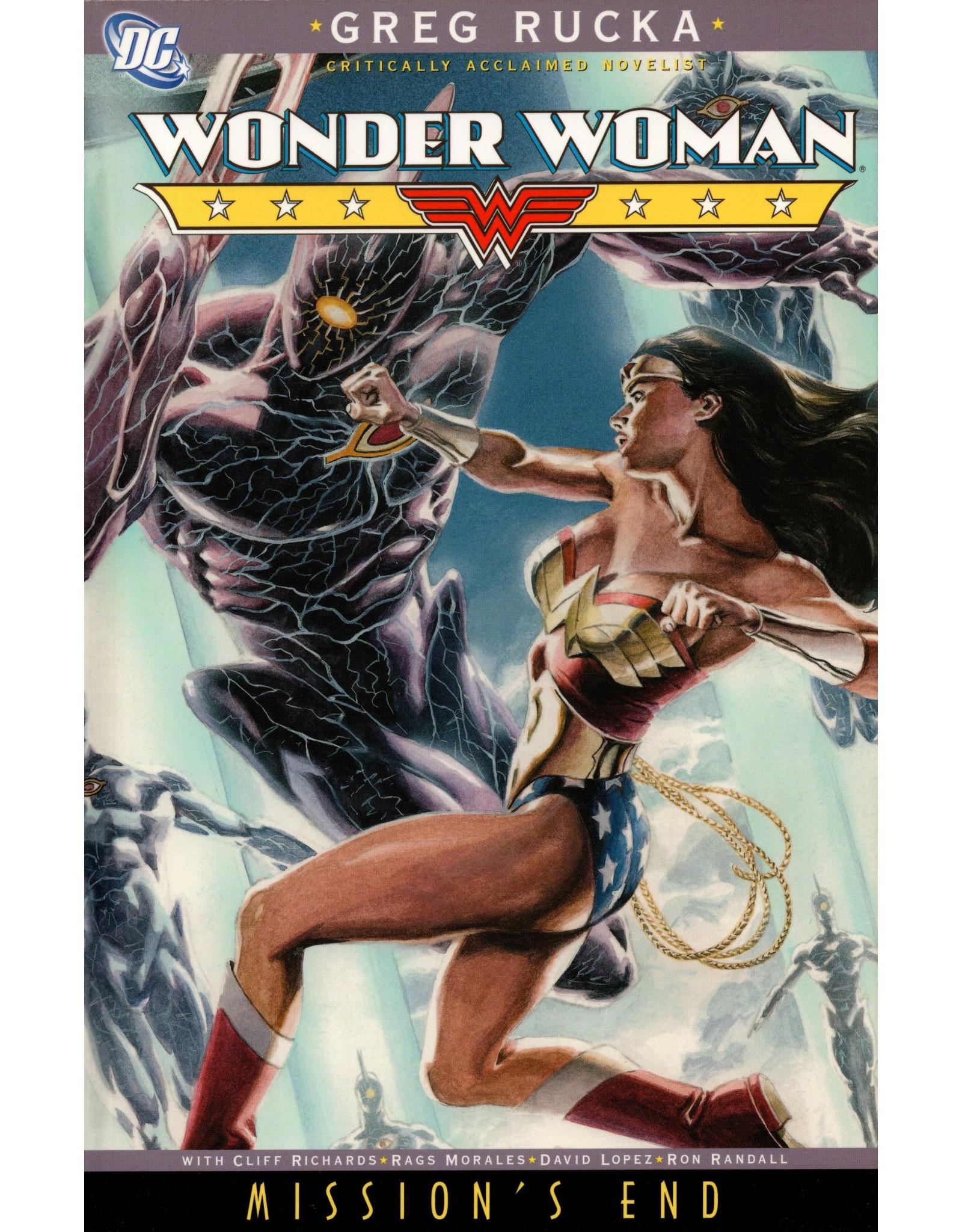 DC COMICS WONDER WOMAN MISSIONS END TP