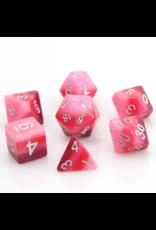 DIE HARD DICE DIE HARD DICE 7 CT RPG DICE SET PINK GRADIENT