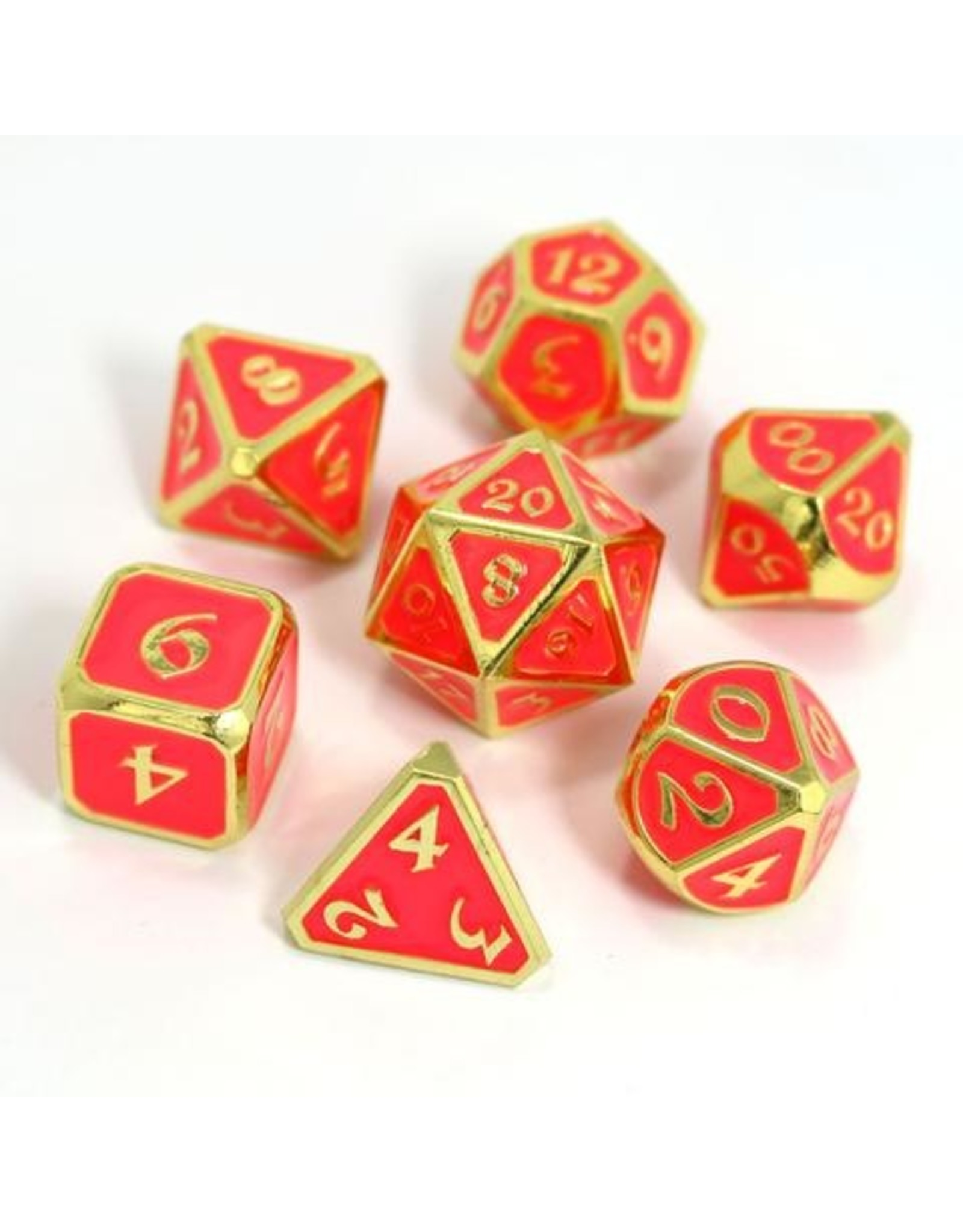 DIE HARD DICE DIE HARD DICE 7 CT FORGE DICE SET AFTERDARK NEON BLOOM