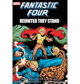 MARVEL COMICS FANTASTIC FOUR REUNITED THEY STAND TP