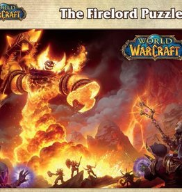 BLIZZARD ENTERTAINMENT WORLD OF WARCRAFT FIRELORD 1000 PIECE PUZZLE