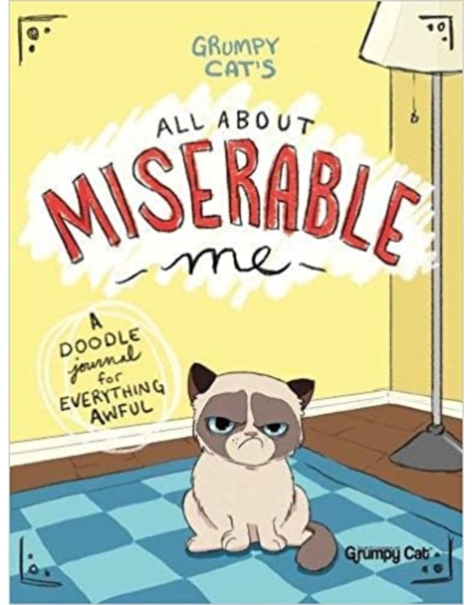 DOVER PUBLICATIONS GRUMPY CATS ALL ABOUT MISERABLE ME