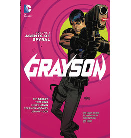 DC COMICS GRAYSON TP VOL 01 AGENTS OF SPYRAL