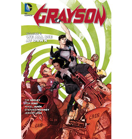 DC COMICS GRAYSON TP VOL 02 WE ALL DIE AT DAWN