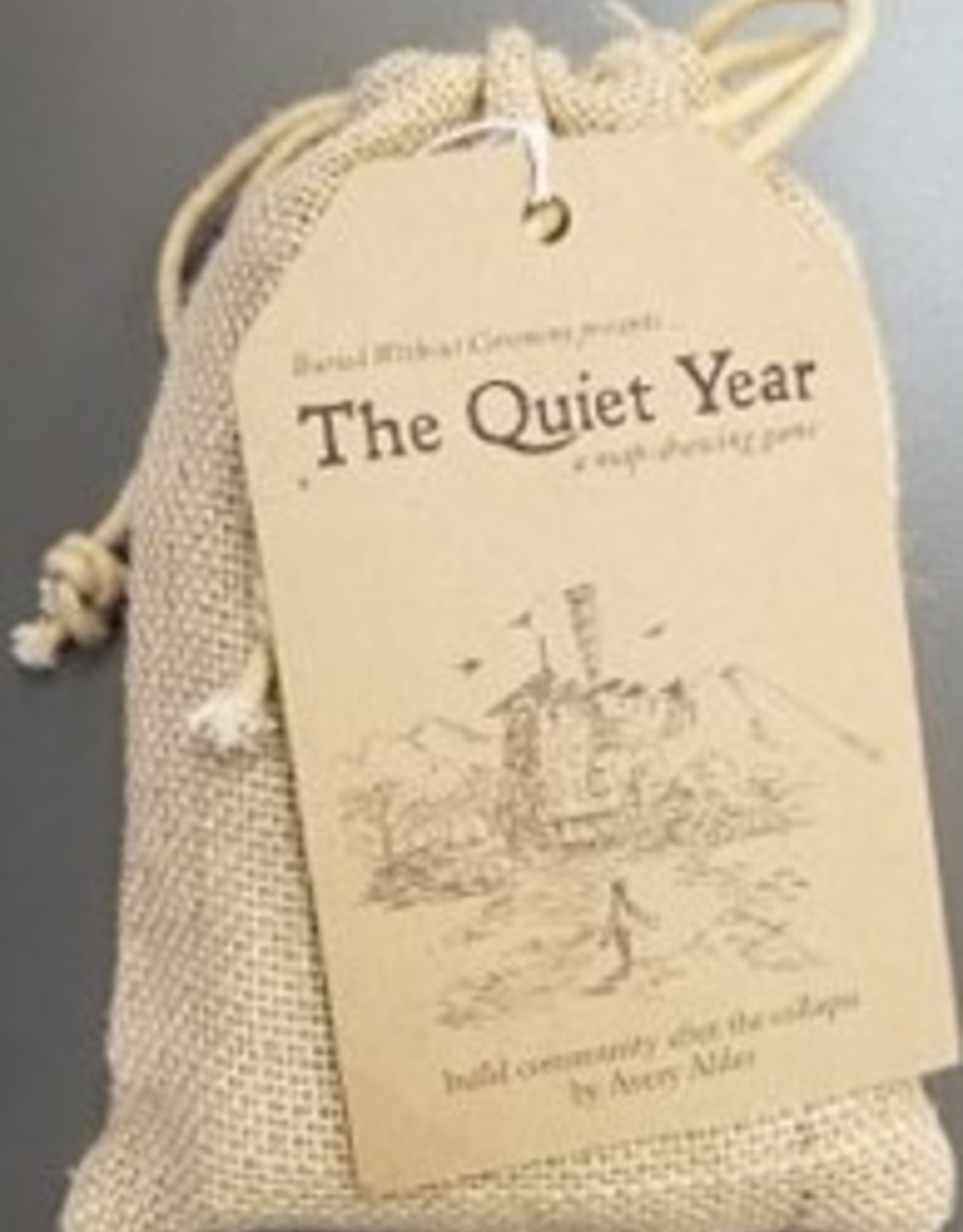 THE QUIET YEAR (DRAWSTRING BAG)