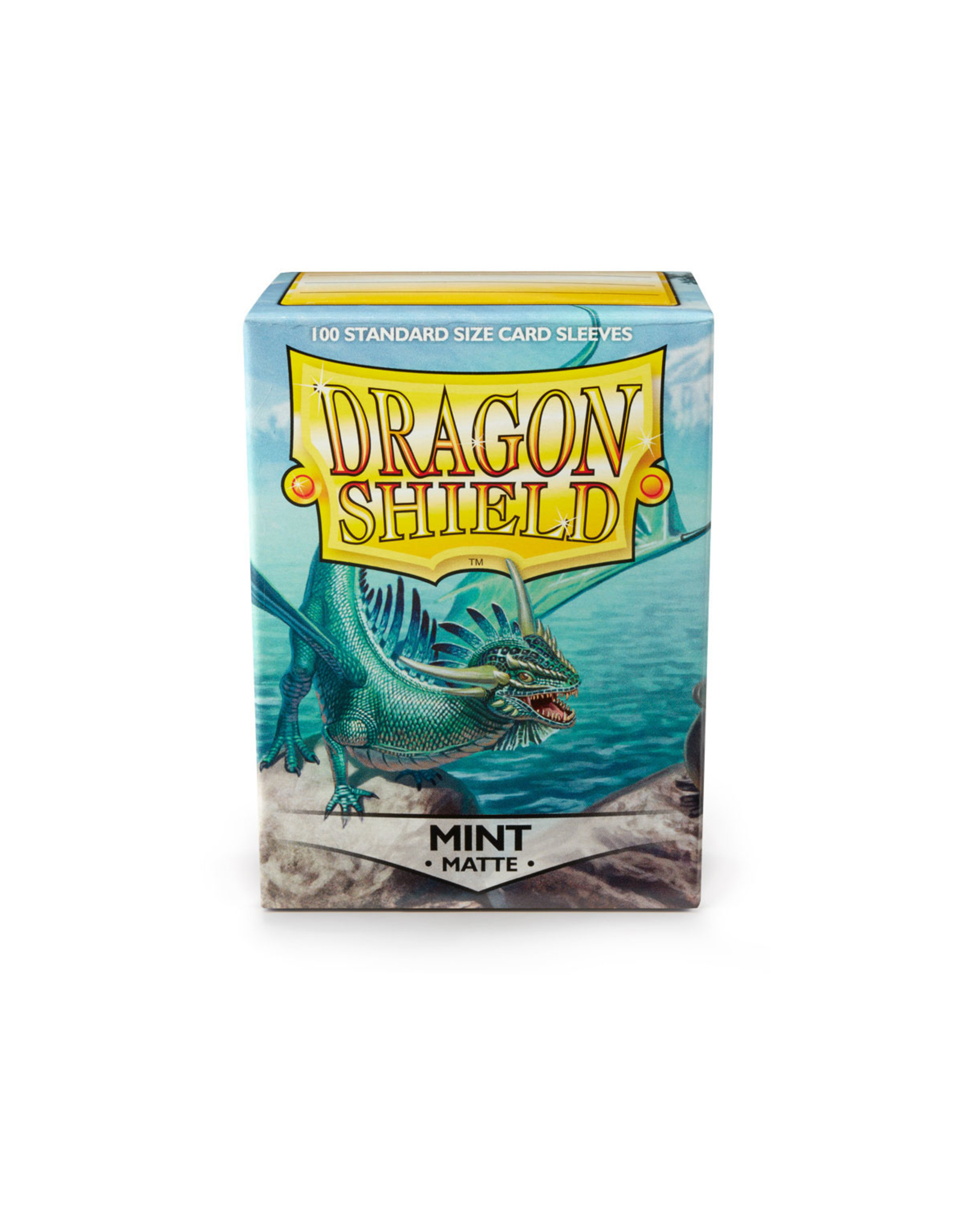 DRAGON SHIELD 100 CT SLEEVES MATTE MINT