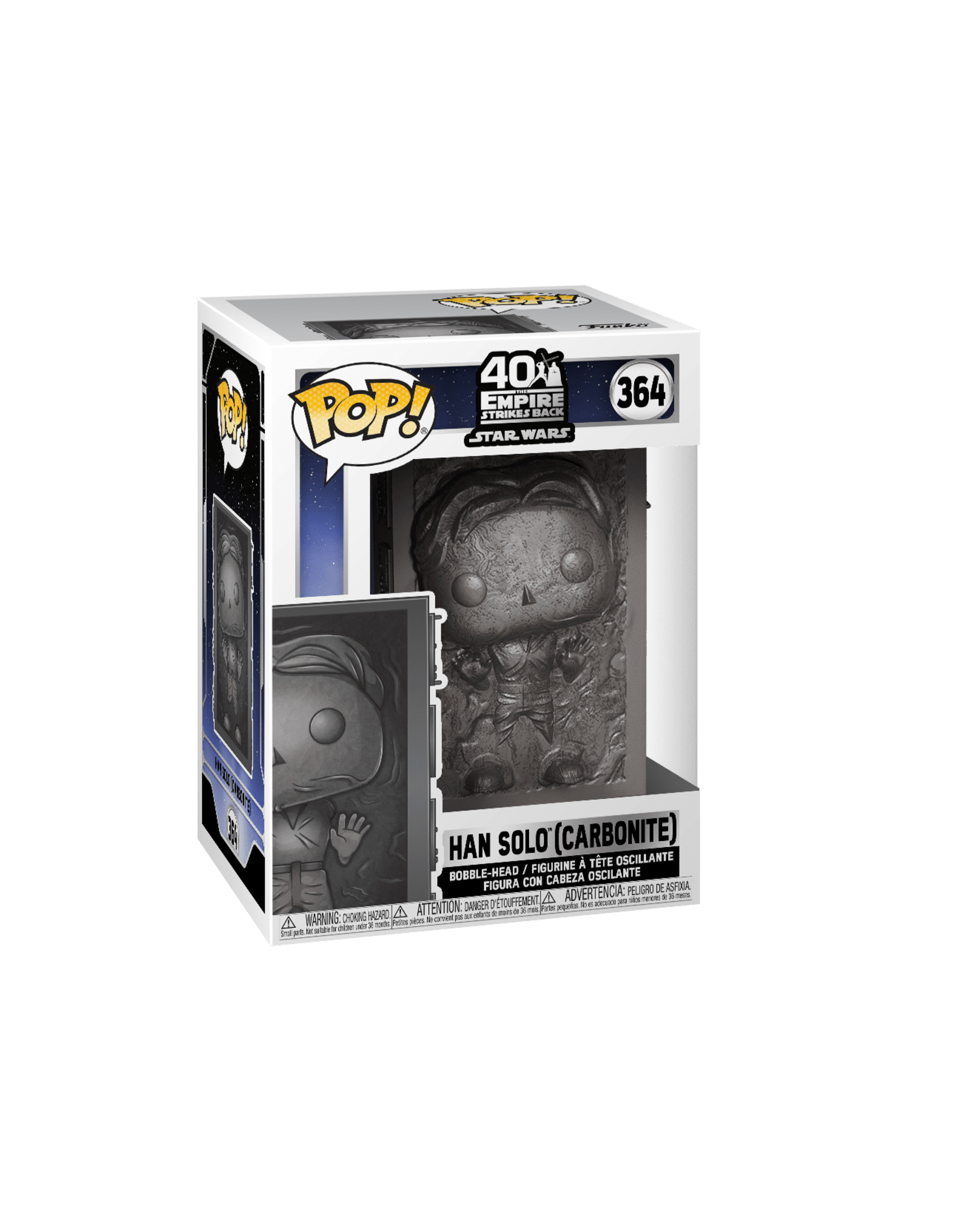FUNKO POP STAR WARS EMPIRE STRIKES BACK HAN IN CARBONITE