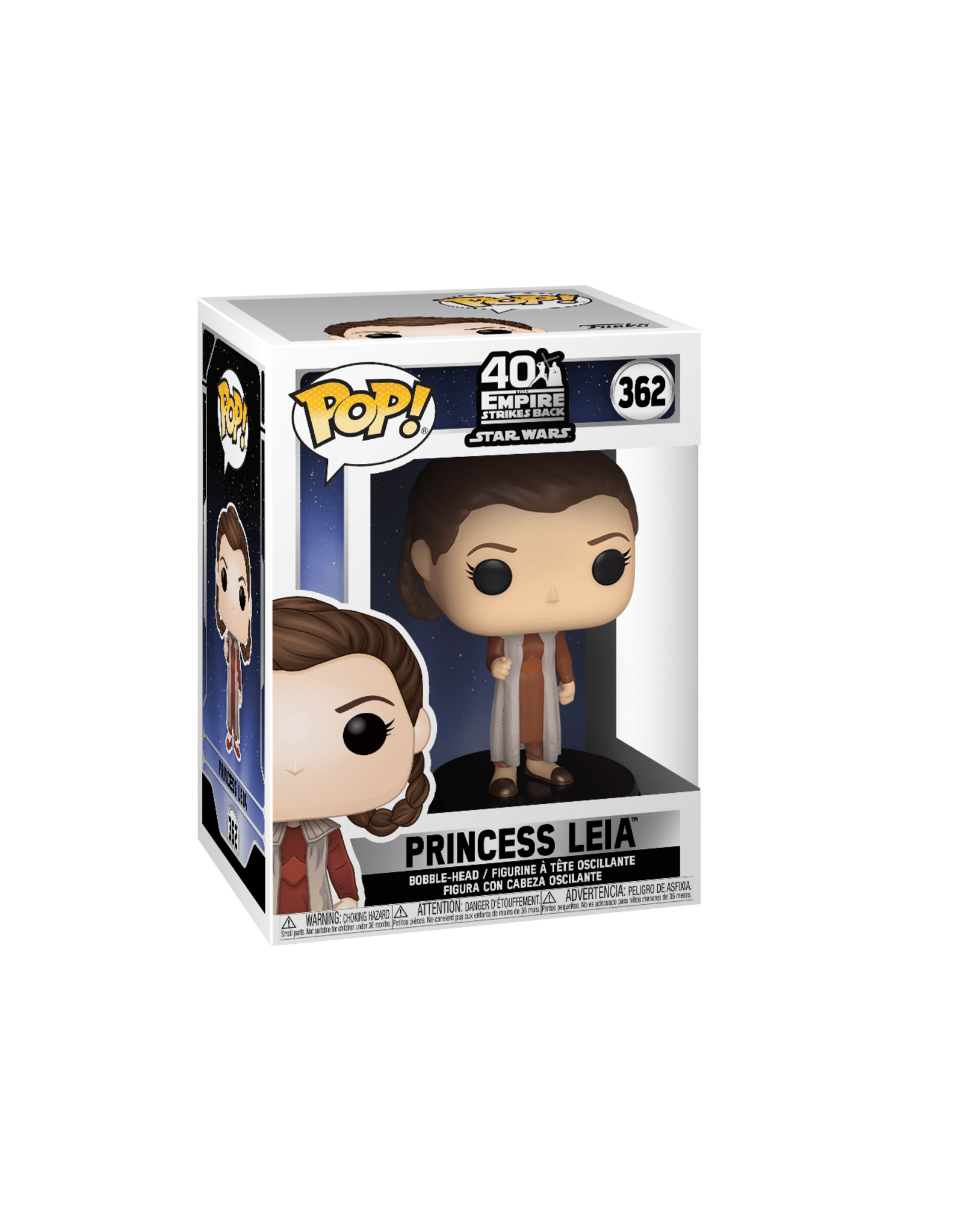 FUNKO POP STAR WARS EMPIRE STRIKES BACK PRINCESS LEIA