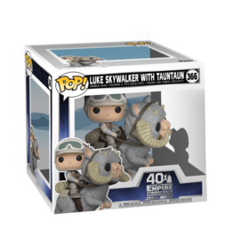 FUNKO POP DELUXE STAR WARS LUKE ON TAUNTAUN