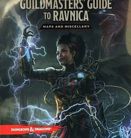 WIZARDS OF THE COAST D&D GUILDMASTERS GUIDE TO RAVNICA MAPS AND MISCELLANY
