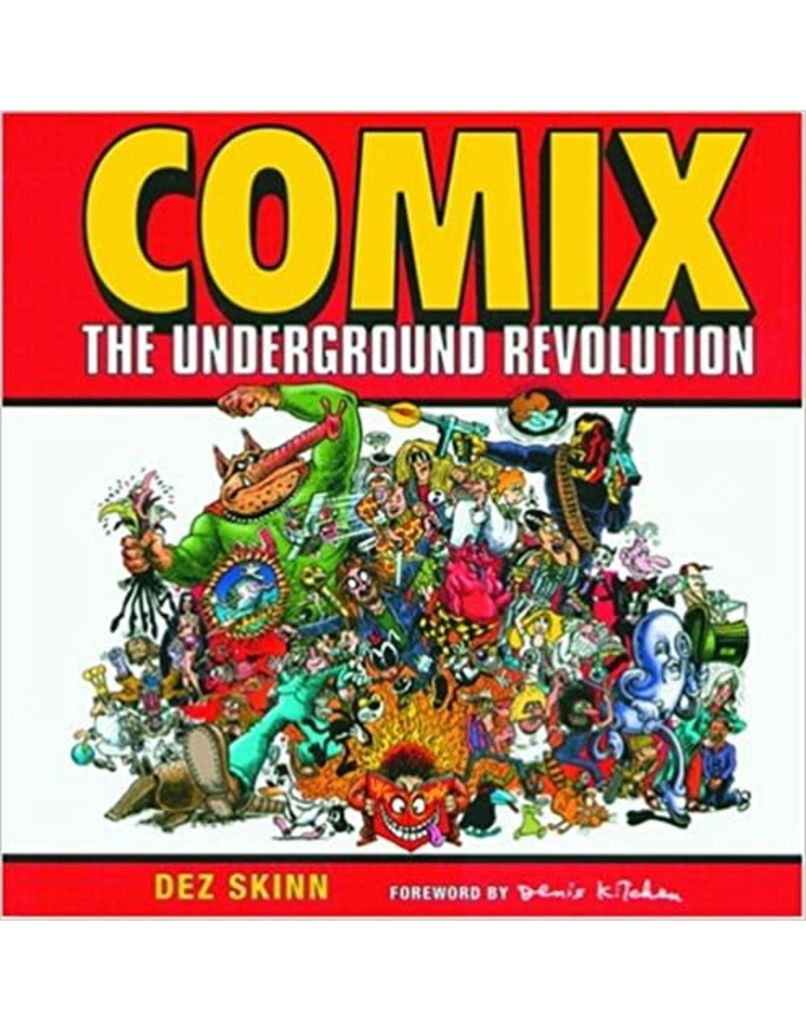 THUNDER'S MOUTH PRESS COMIX THE UNDERGROUND REVOLUTION TP