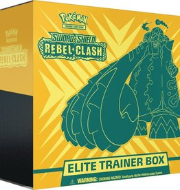 POKEMON COMPANY INTERNATIONAL POKEMON TCG SWORD & SHIELD REBEL CLASH ELITE TRAINER BOX