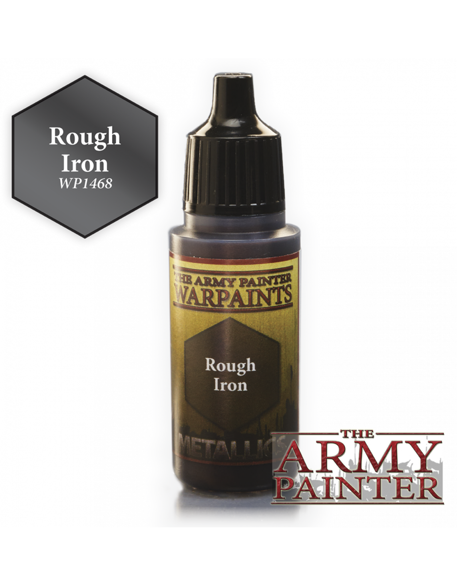 THE ARMY PAINTER ARMY PAINTER WARPAINTS METALLICS ROUGH IRON