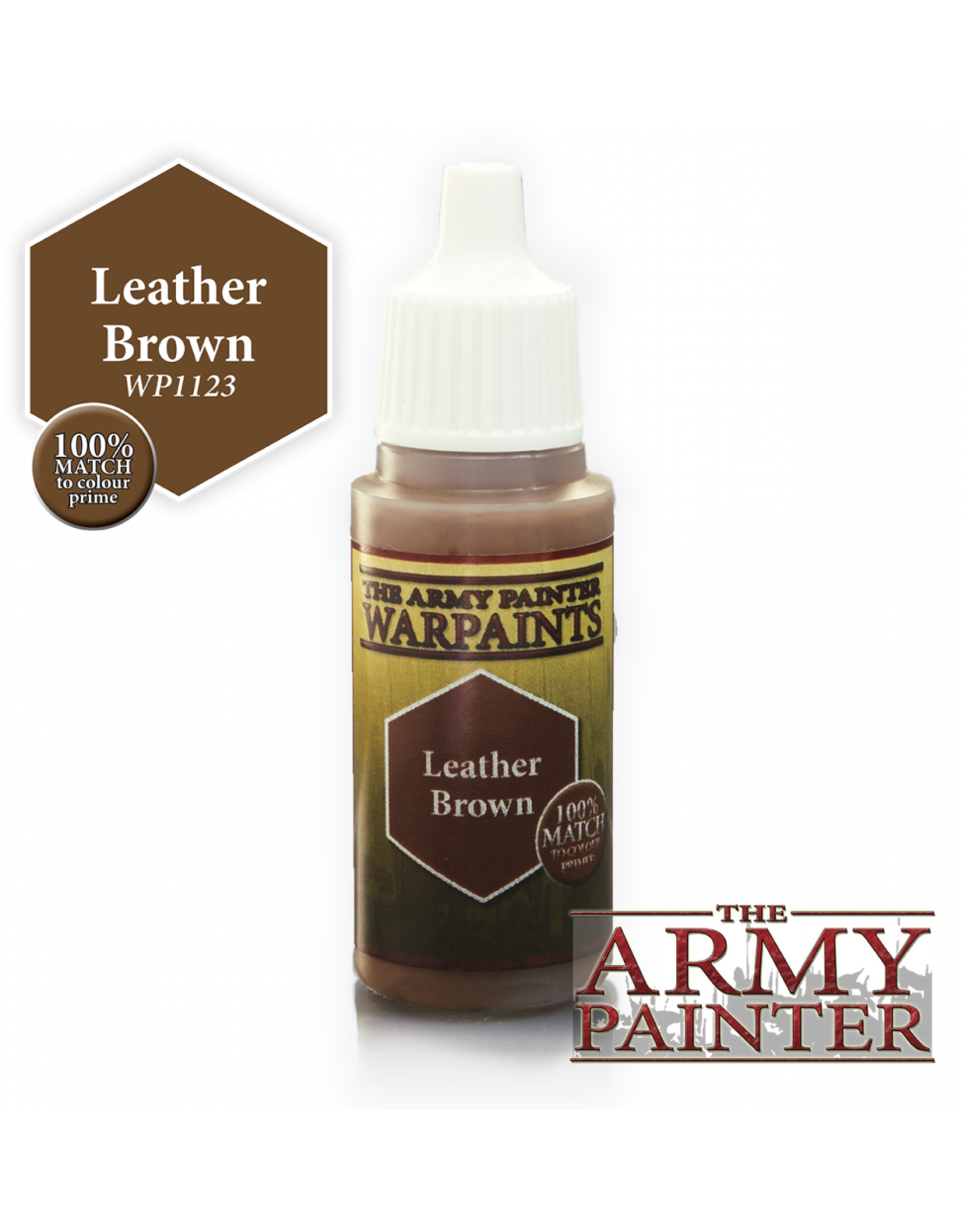 THE ARMY PAINTER ARMY PAINTER WARPAINTS LEATHER BROWN