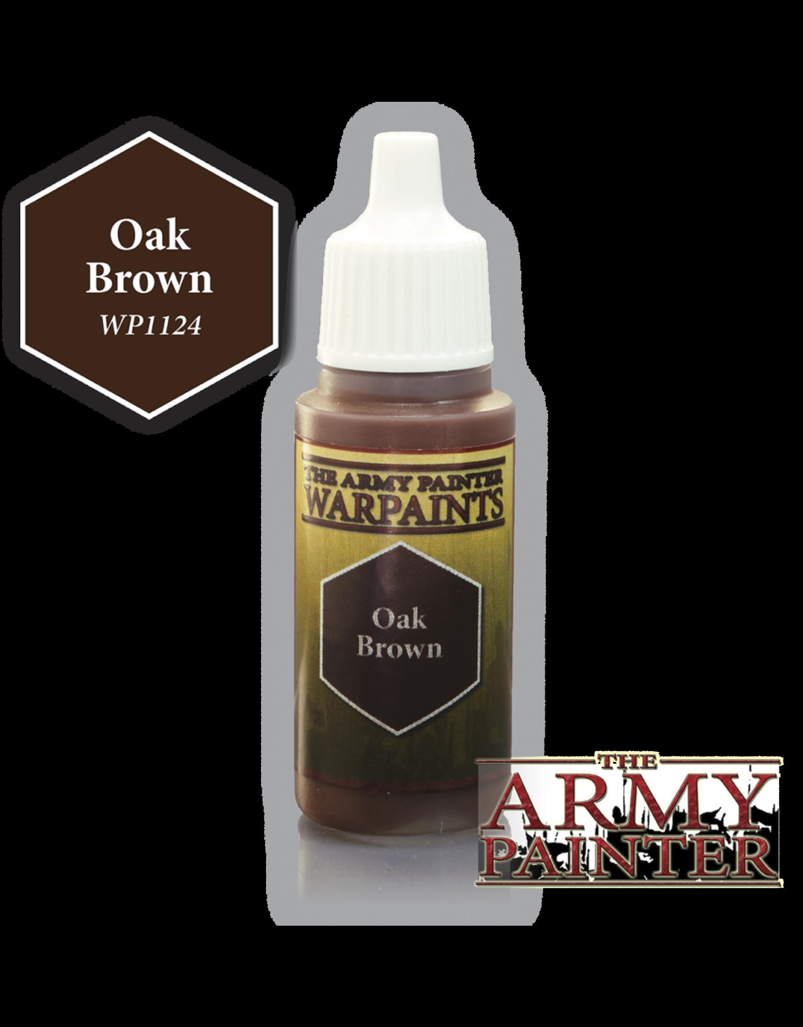 THE ARMY PAINTER ARMY PAINTER WARPAINTS OAK BROWN