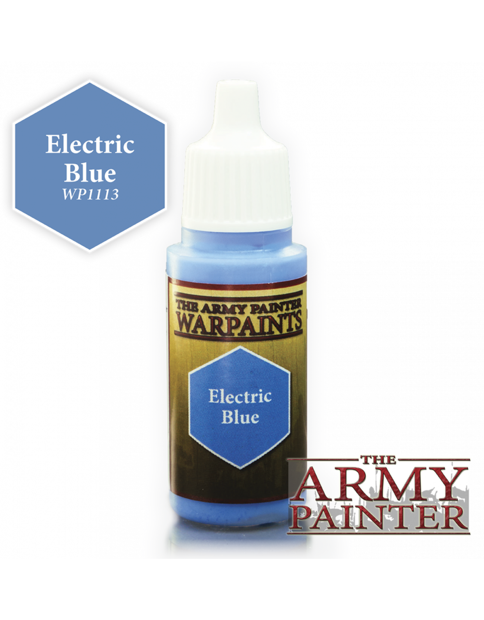 THE ARMY PAINTER ARMY PAINTER WARPAINTS ELECTRIC BLUE