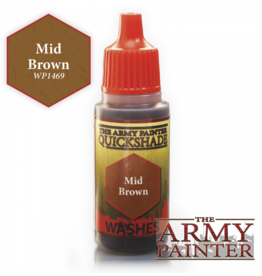 THE ARMY PAINTER ARMY PAINTER WARPAINTS QUICK SHADE WASHES MID BROWN