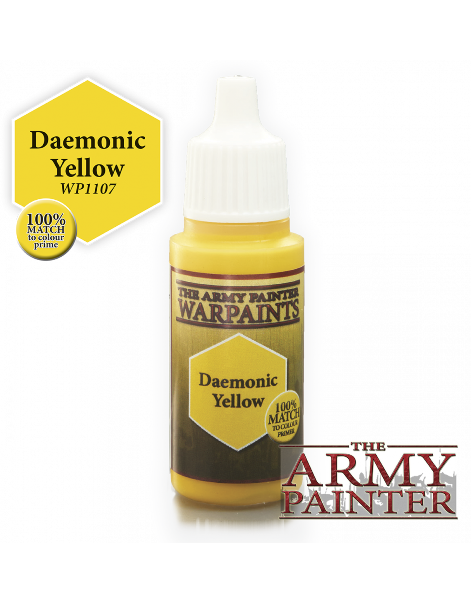 THE ARMY PAINTER ARMY PAINTER WARPAINTS DAEMONIC YELLOW