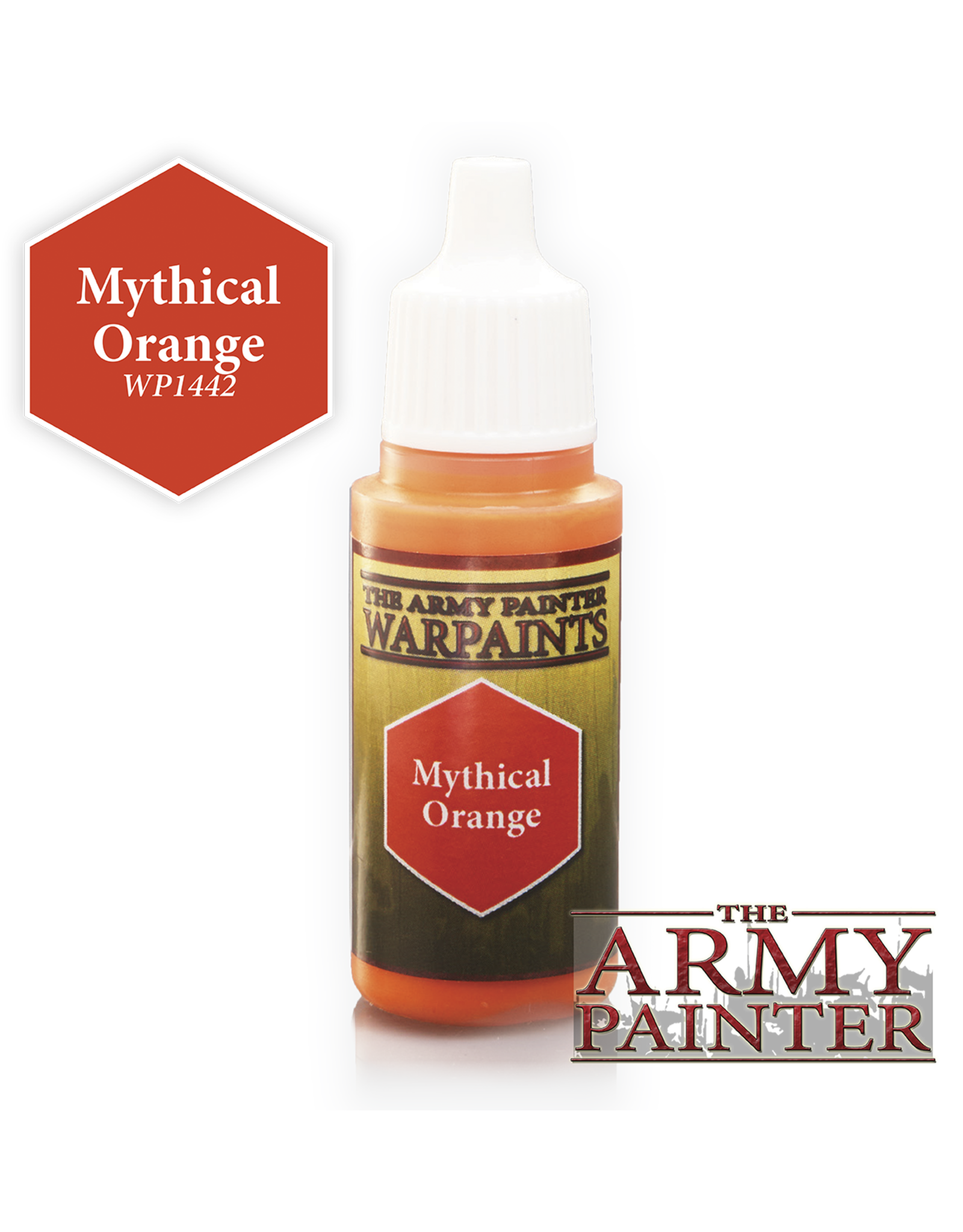 THE ARMY PAINTER ARMY PAINTER WARPAINTS MYTHICAL ORANGE
