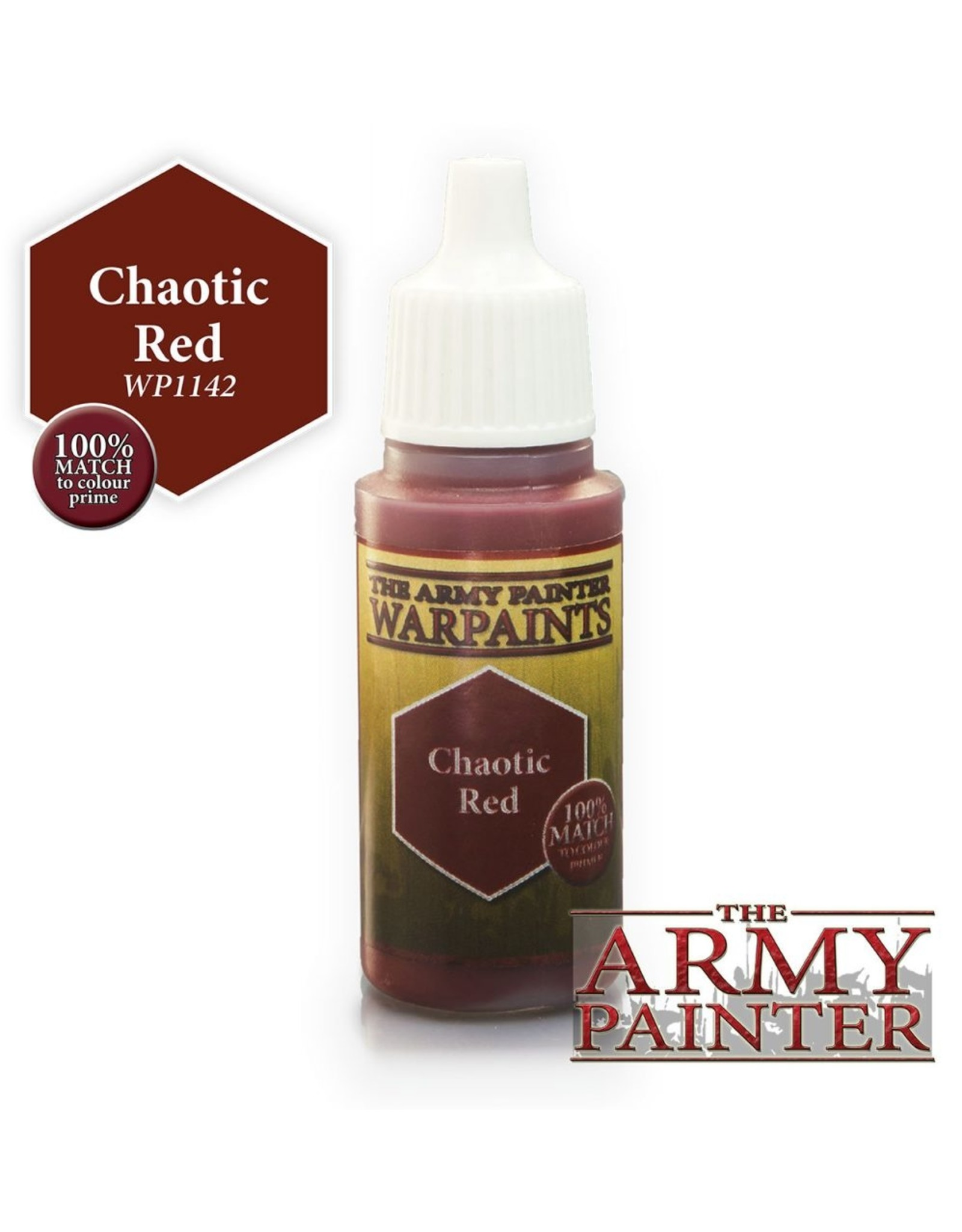 THE ARMY PAINTER ARMY PAINTER WARPAINTS CHAOTIC RED