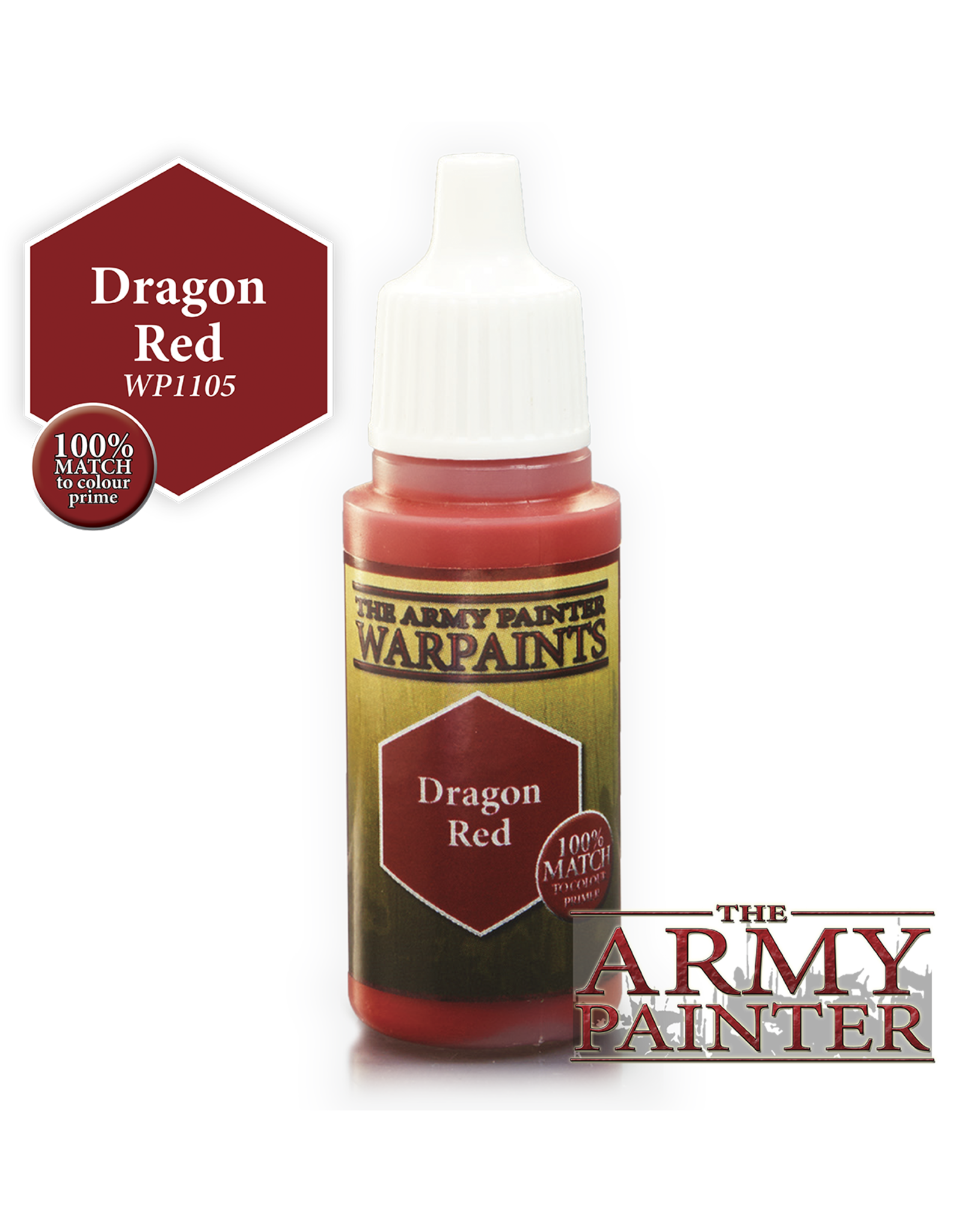 THE ARMY PAINTER ARMY PAINTER WARPAINTS DRAGON RED