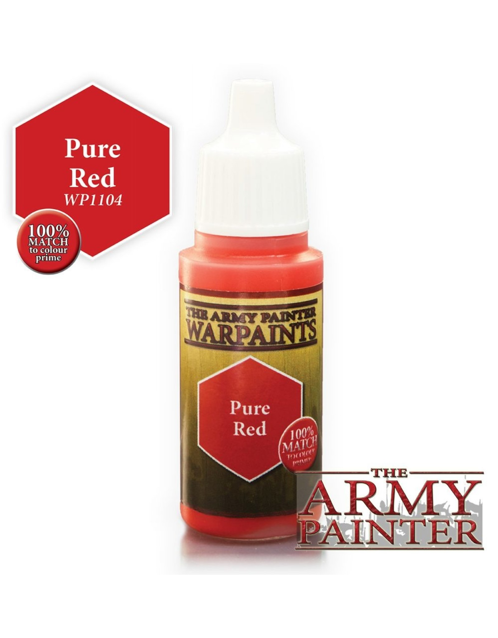 THE ARMY PAINTER ARMY PAINTER WARPAINTS PURE RED