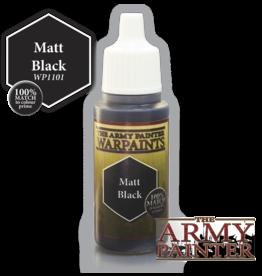 THE ARMY PAINTER ARMY PAINTER WARPAINTS MATT BLACK