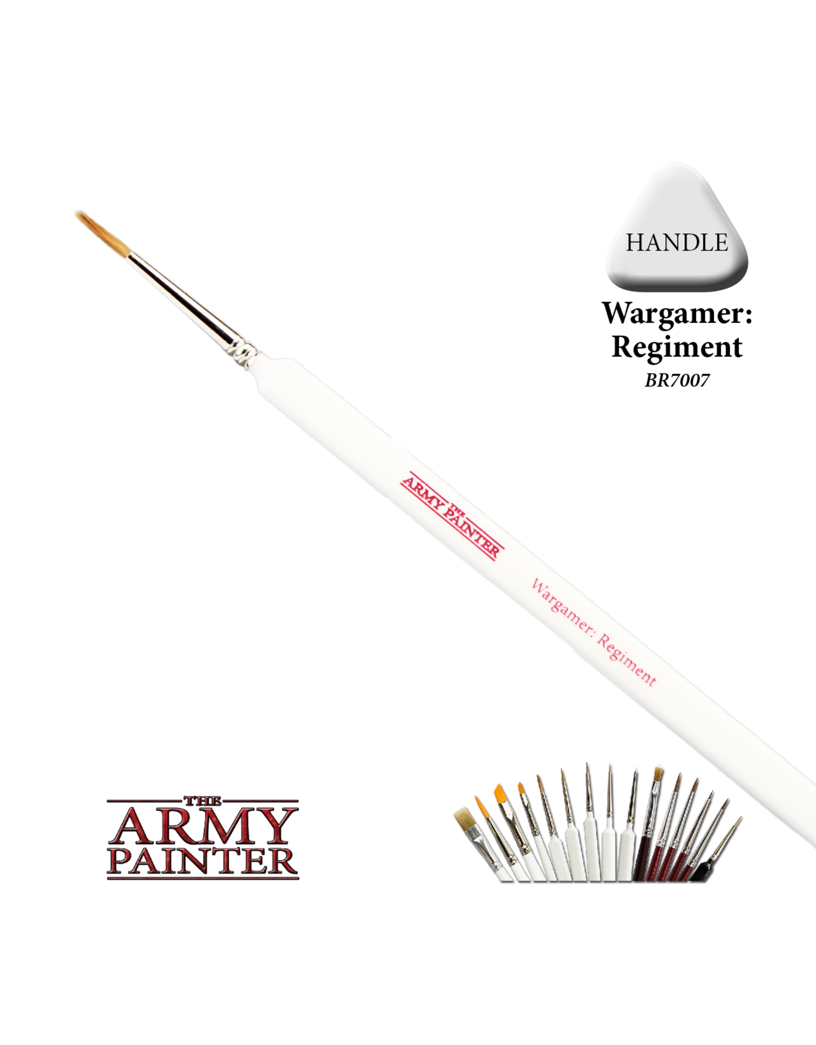 THE ARMY PAINTER ARMY PAINTER WARGAMER REGIMENT BRUSH