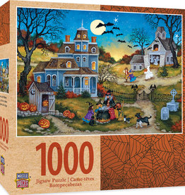 HALLOWEEN THREE LITTLE WITCHES 1000 PIECE PUZZLE
