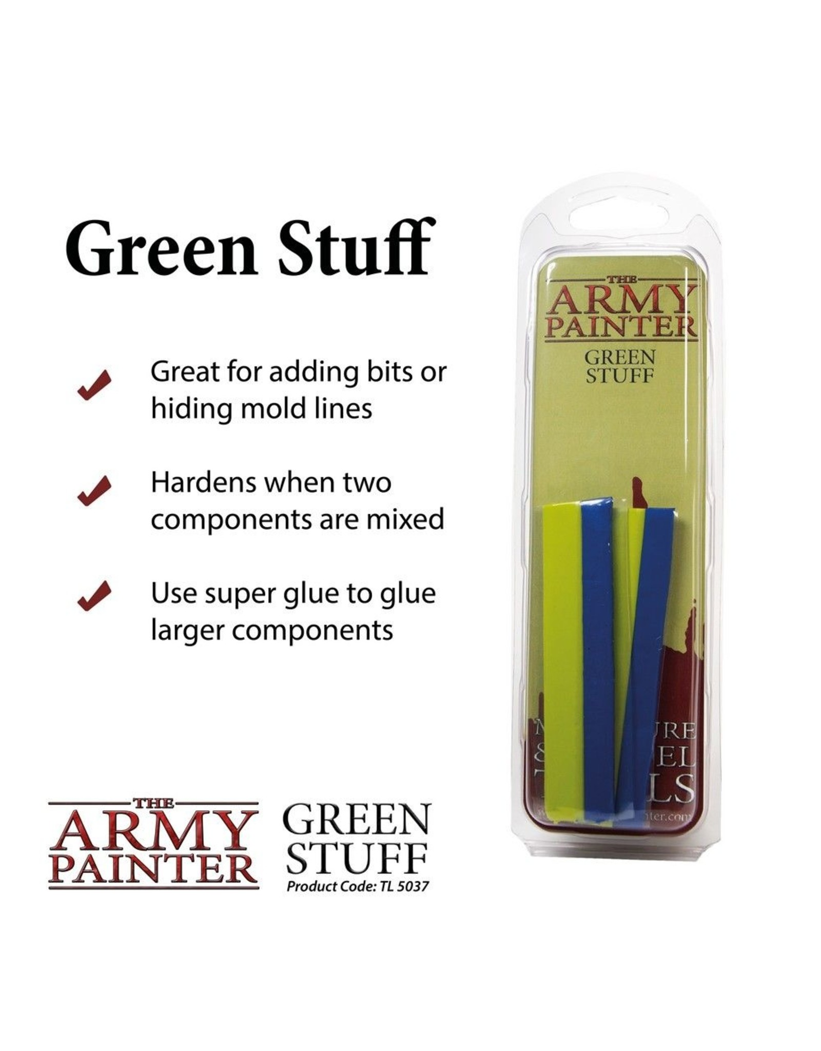 THE ARMY PAINTER ARMY PAINTS KNEADATITE GREEN STUFF