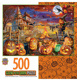 HALLOWEEN GLOW IN THE DARK -ALL HALLOW'S EVE 500 PIECE PUZZLE